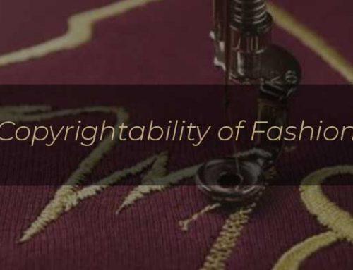 Copyrightability of Fashion