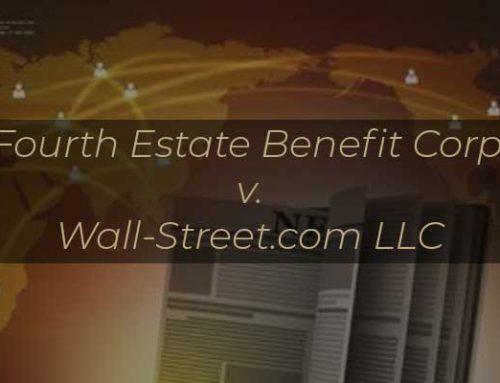 Copyright Registrations – a Prerequisite to Litigation?