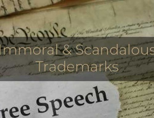 U.S. SUPREME COURT OPINES ON IMMORAL AND SCANDALOUS TRADEMARKS